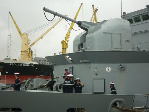 Cận cảnh tàu tuần dương Hải quân Pháp vừa đến Đà Nẵng - 4