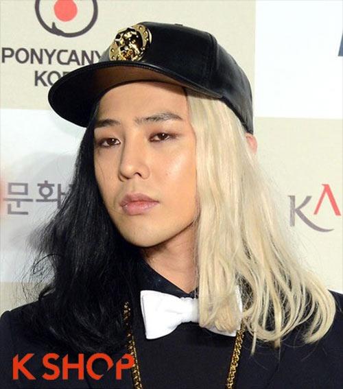 """15 kiểu tóc """"chất chơi"""" của G-Dragon - 9"""