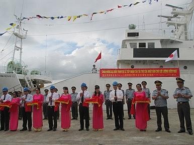 Nhật bàn giao 2 tàu tuần tra cho Cảnh sát Biển Việt Nam - 1