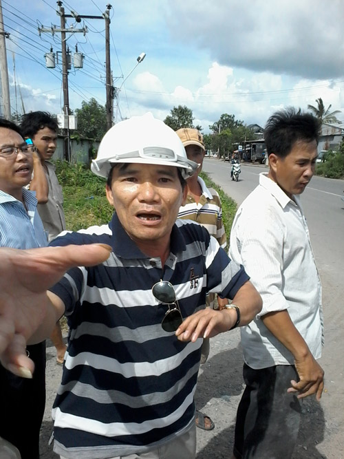 Phóng viên báo Người lao động bị hành hung khi tác nghiệp - 1