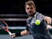 Thể thao - Paris Masters ngày 2: Wawrinka khởi đầu thuận lợi
