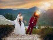 Bạn trẻ - Cuộc sống - Độc đáo với trào lưu chụp ảnh cưới siêu thực