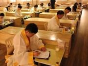 """Phi thường - kỳ quặc - Rùng mình với lớp học """"thử nghiệm cái chết"""" tại Hàn Quốc"""
