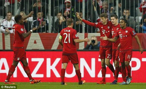 Video Bayern Munich vs Arsenal - 1