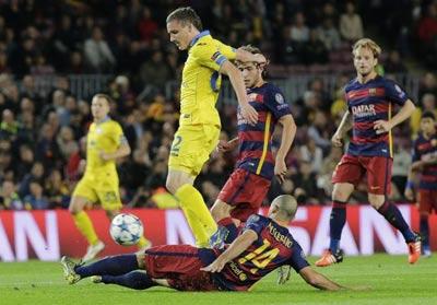 Chi tiết Barca - BATE Borisov: Trong cái rủi có cái may (KT) - 5