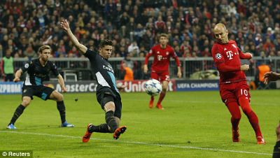 Chi tiết Bayern - Arsenal: Sụp đổ hoàn toàn (KT) - 7