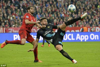 Chi tiết Bayern - Arsenal: Sụp đổ hoàn toàn (KT) - 8