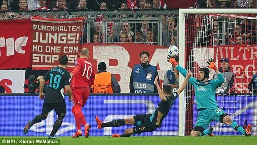 Arsenal thua thảm, HLV Wenger trách hàng thủ - 1