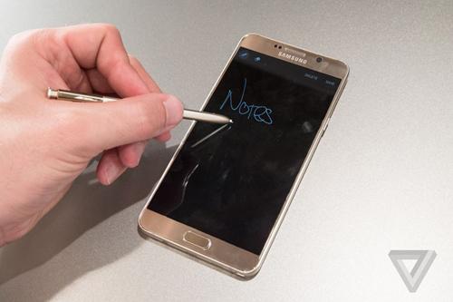 """Đánh giá chi tiết Samsung Galaxy Note 5: Thay đổi để """"lột xác"""" - 5"""