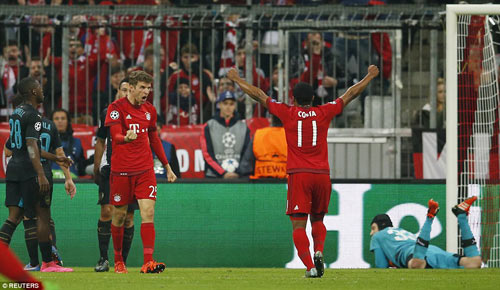 Sức mạnh của Bayern và số phận Arsenal - 1