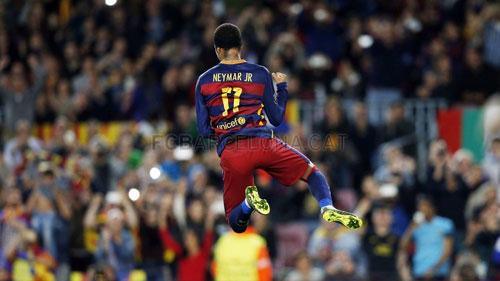 """""""Siêu nhân"""" Neymar: Bóng dáng thủ lĩnh ở Nou Camp - 1"""