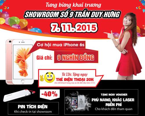 Cơ hội mua iPhone 6s giá 9.000đ tại Nhật Cường Mobile - 2