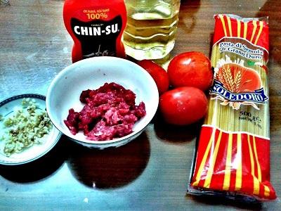 Cách làm spaghetti sốt cà chua bò băm đơn giản nhất - 1