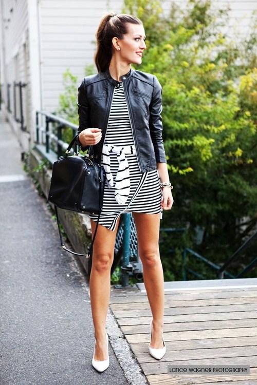 Mùa thu mặc đẹp với váy bất đối xứng - 9