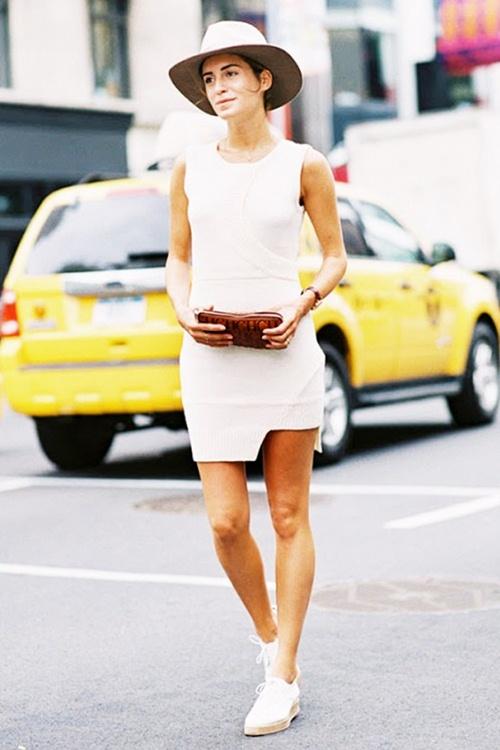 Mùa thu mặc đẹp với váy bất đối xứng - 11