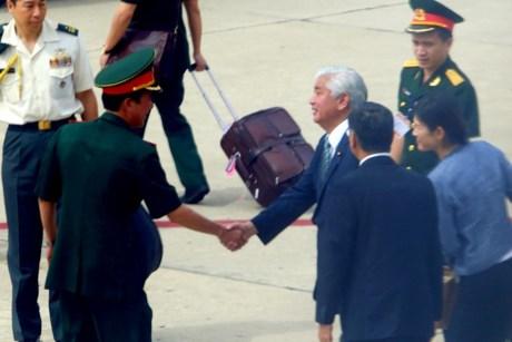 Bộ trưởng Quốc phòng Nhật Bản thăm Vùng 4 Hải quân - 1