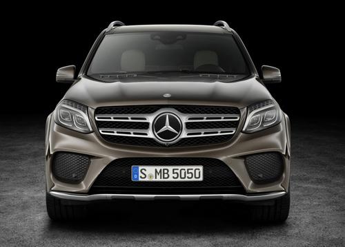 """Mercedes-Benz GL 2017: Mới lộ mà đã gây """"mê"""" - 3"""