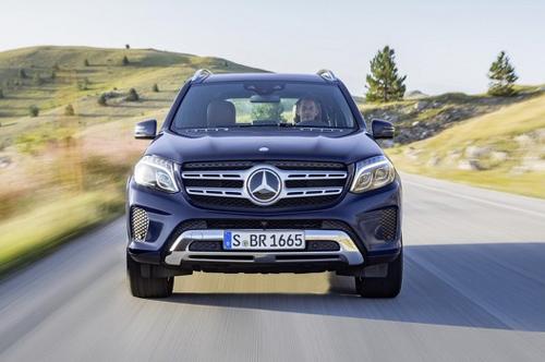 """Mercedes-Benz GL 2017: Mới lộ mà đã gây """"mê"""" - 4"""