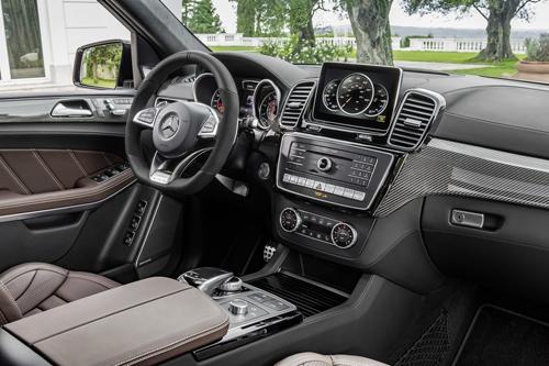 """Mercedes-Benz GL 2017: Mới lộ mà đã gây """"mê"""" - 5"""