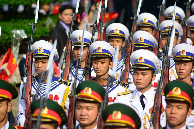 Cận cảnh Lễ đón Chủ tịch Trung Quốc Tập Cận Bình - 10