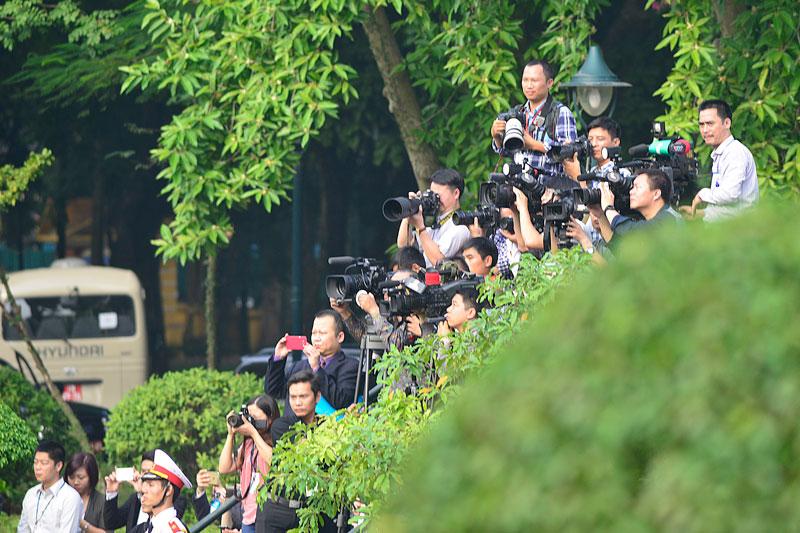 Cận cảnh Lễ đón Chủ tịch Trung Quốc Tập Cận Bình - 12