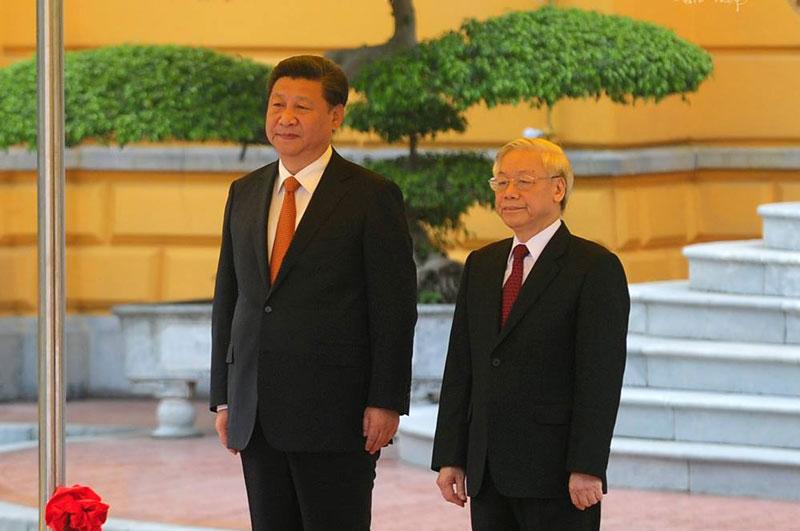 Cận cảnh Lễ đón Chủ tịch Trung Quốc Tập Cận Bình - 3