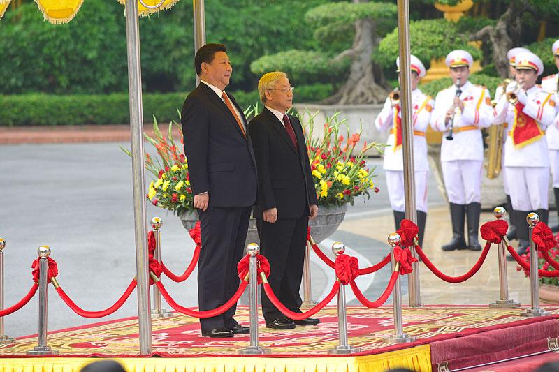 Cận cảnh Lễ đón Chủ tịch Trung Quốc Tập Cận Bình - 4