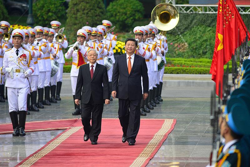 Cận cảnh Lễ đón Chủ tịch Trung Quốc Tập Cận Bình - 5