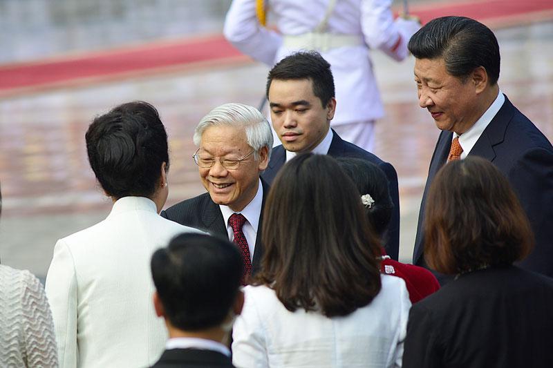 Cận cảnh Lễ đón Chủ tịch Trung Quốc Tập Cận Bình - 6