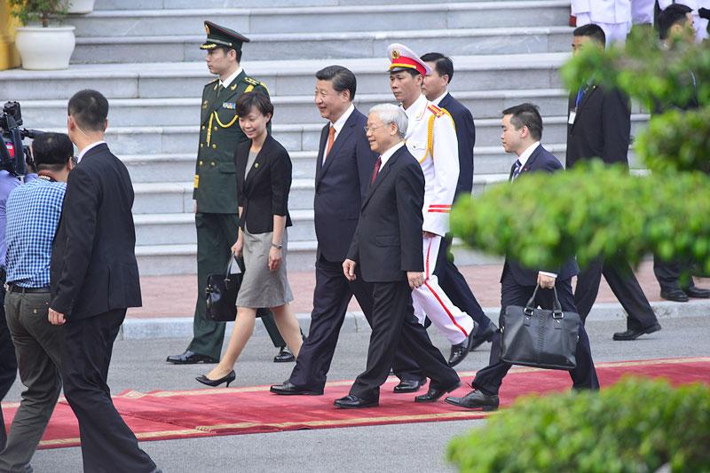 Cận cảnh Lễ đón Chủ tịch Trung Quốc Tập Cận Bình - 7
