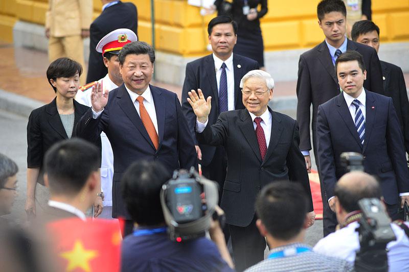 Cận cảnh Lễ đón Chủ tịch Trung Quốc Tập Cận Bình - 8