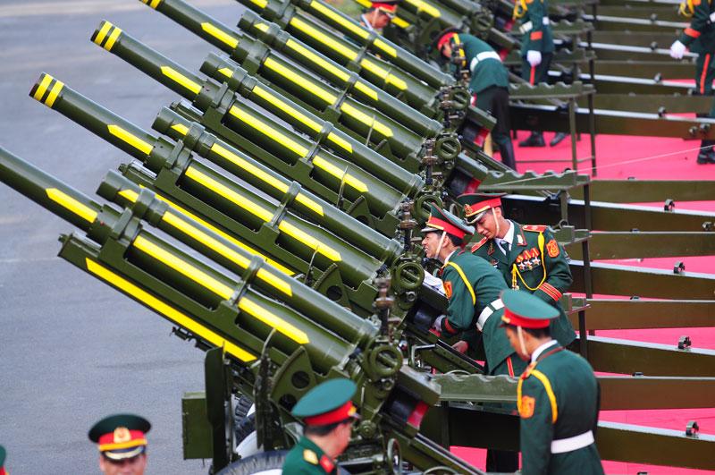 Cận cảnh Lễ đón Chủ tịch Trung Quốc Tập Cận Bình - 14