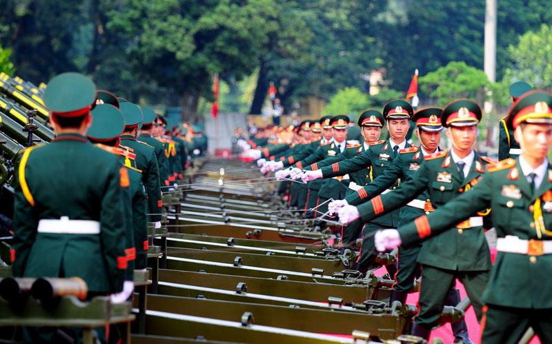 Cận cảnh Lễ đón Chủ tịch Trung Quốc Tập Cận Bình - 15