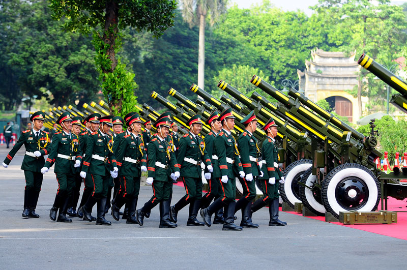Cận cảnh Lễ đón Chủ tịch Trung Quốc Tập Cận Bình - 13