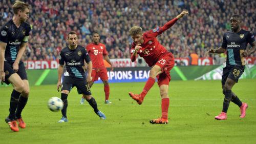Tiêu điểm lượt 4 cúp C1: Bayern đẩy Arsenal đến vực thẳm - 1