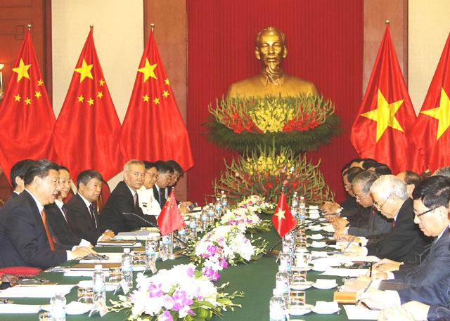 Hội đàm cấp cao duy trì đại cục quan hệ Việt - Trung - 1