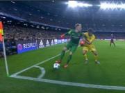 Bóng đá - Ter Stegen vê bóng mượt mà trước tiền đạo BATE