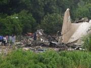 Video An ninh - Hy hữu: Máy bay Nga rơi ở Nam Sudan 3 người còn sống