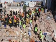 Video An ninh - Sập nhà máy tại Pakistan, gần 60 người thương vong