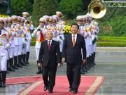 Tin tức trong ngày - Cận cảnh Lễ đón Chủ tịch Trung Quốc Tập Cận Bình