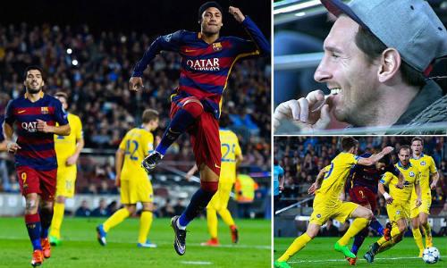 Suarez - Neymar thăng hoa và mối lo mang tên Messi - 1