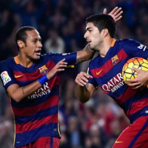 Suarez - Neymar thăng hoa và mối lo mang tên Messi - 2