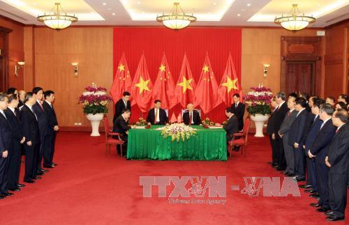 Việt - Trung ký kết nhiều văn bản, thỏa thuận hợp tác - 1