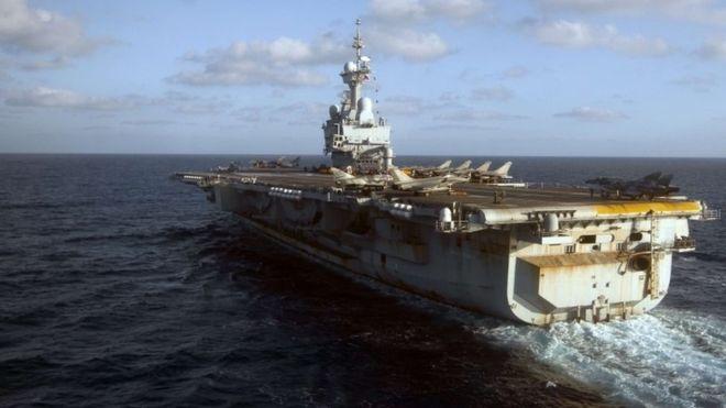 Pháp điều tàu sân bay hạt nhân chống IS - 1