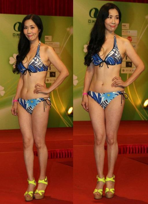 Bất ngờ với thí sinh Hoa hậu châu Á 51 tuổi - 2