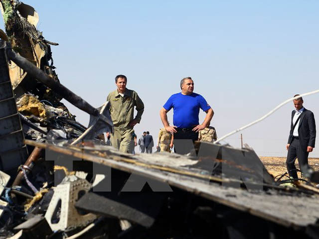 Nga, Ai Cập bác bỏ nhận định máy bay Nga bị đặt bom - 1