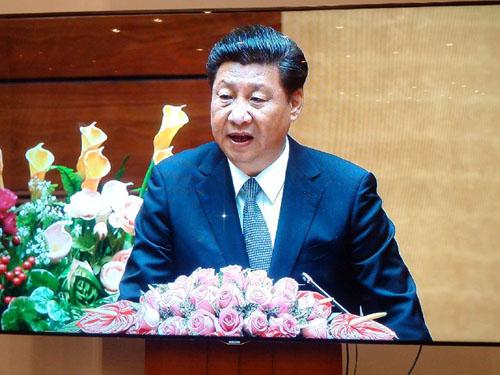 """Chủ tịch Trung Quốc: """"Coi trọng đại sự, tiểu sự dễ giải quyết"""" - 1"""