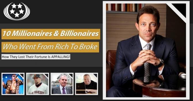 Những đại gia từ giàu có đi đến phá sản - 1