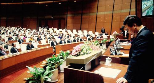 Video: Ông Tập Cận Bình phát biểu trước Quốc hội Việt Nam - 1