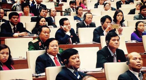 Video: Ông Tập Cận Bình phát biểu trước Quốc hội Việt Nam - 4